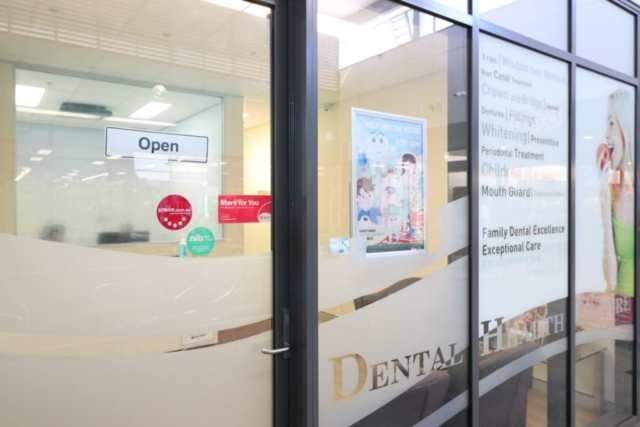 Dental Health Centre Entrance